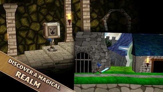 تحميل لعبة المغامرة المميزة للأندرويد مجاناً Swordigo APK 1.3