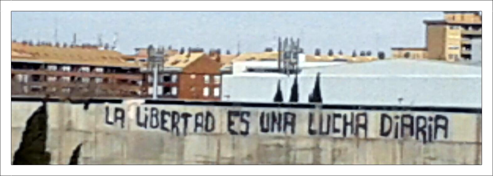 Alguien escribió en la pared