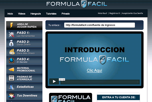 Ganancias Express vs Formula Facil