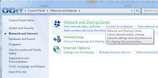 Melihat Kembali Recover Password Wifi Hotspot di Windows Network and Sharing Center
