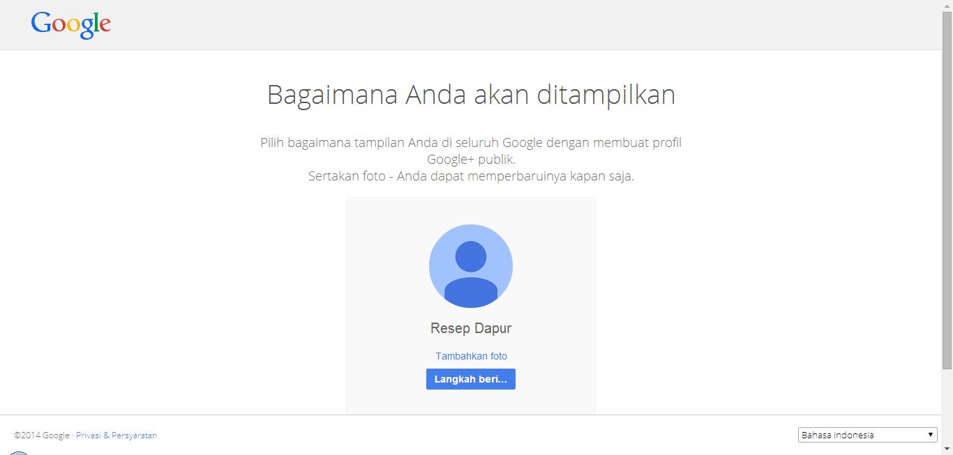 Bagaimana Anda akan ditampilkan Email Gmail