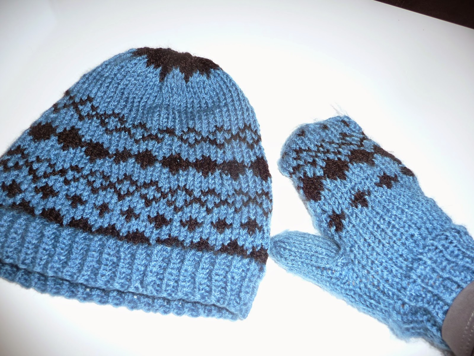 czapka i rękawiczki diy
