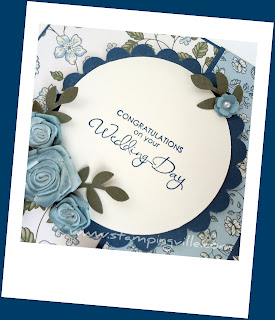 Stampin' Up! Occasional Quotes Wedding Day Card