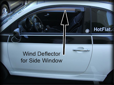 HotFIAT Wind Deflectors
