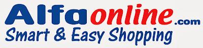 alfaonline com Toko belanja online murah, Promo heboh jual barang hanya Rp 1,-