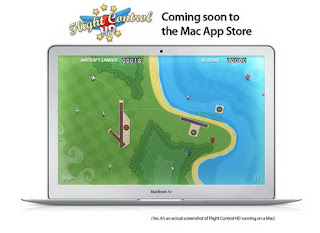 Flight Control HD coming soon to the Mac App store