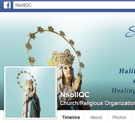 National Shrine of Our Lady of Lourdes on Facebook