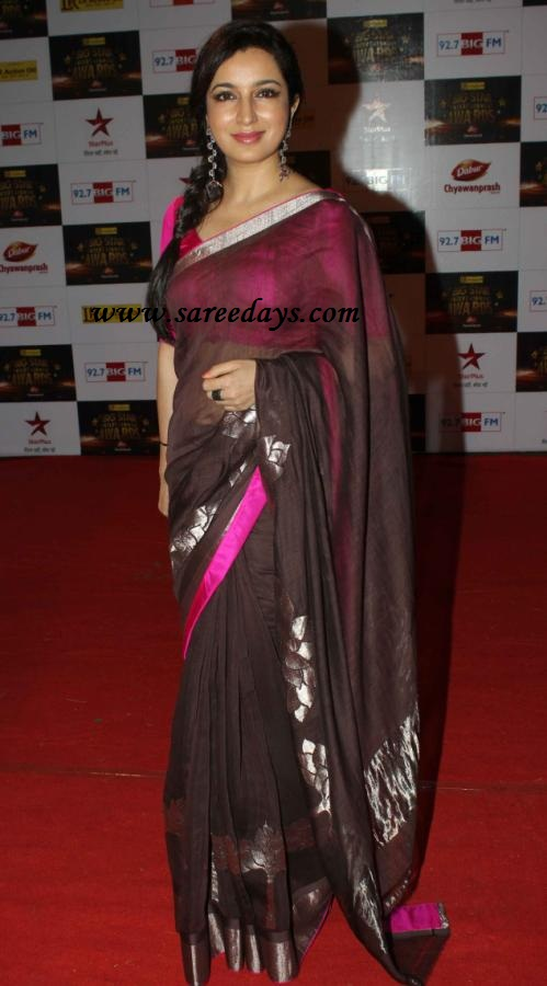 Ankita Lokhande Black Saree Checkout tisca chopra in blackAnkita Lokhande Black Saree