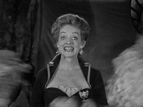 Bette Davis makeing faces in The Elizabeth McQueeny Story