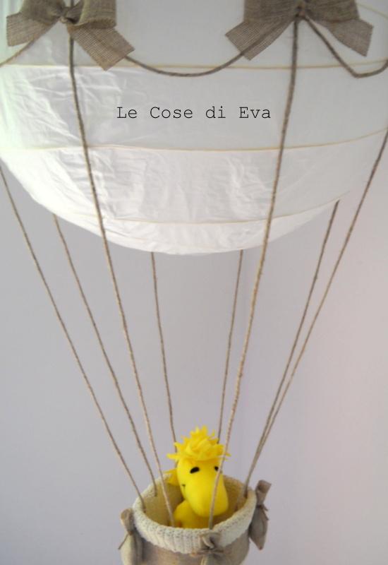 Le Cose di Eva  Lampadario Mongolfiera -> Lampadario Fai Da Te Bambini