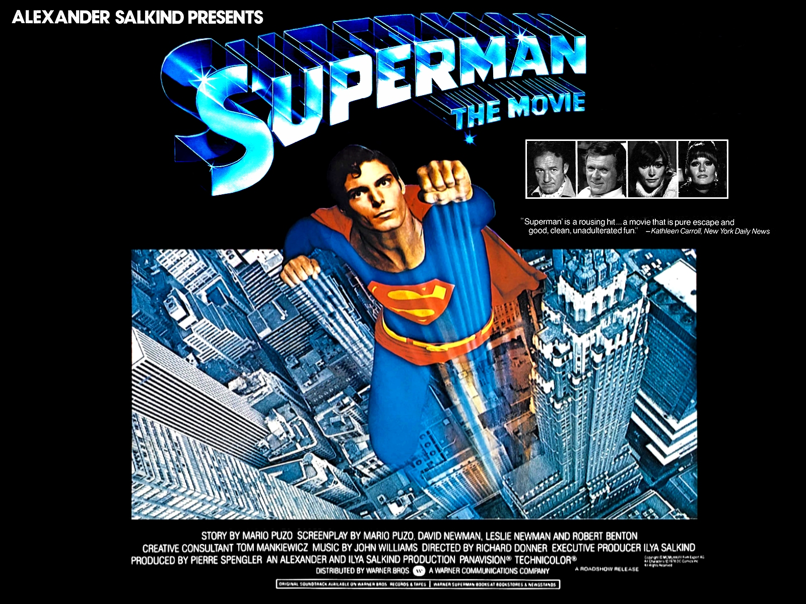 cinema just for fun: Superman: The Movie by Richard Donner ...
