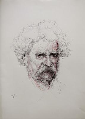 """""""Mark Twain"""",""""Tom Sawyer"""",""""escritor"""",""""dibujo"""",""""Nacho"""",""""ilustración"""",""""proyecto"""""""