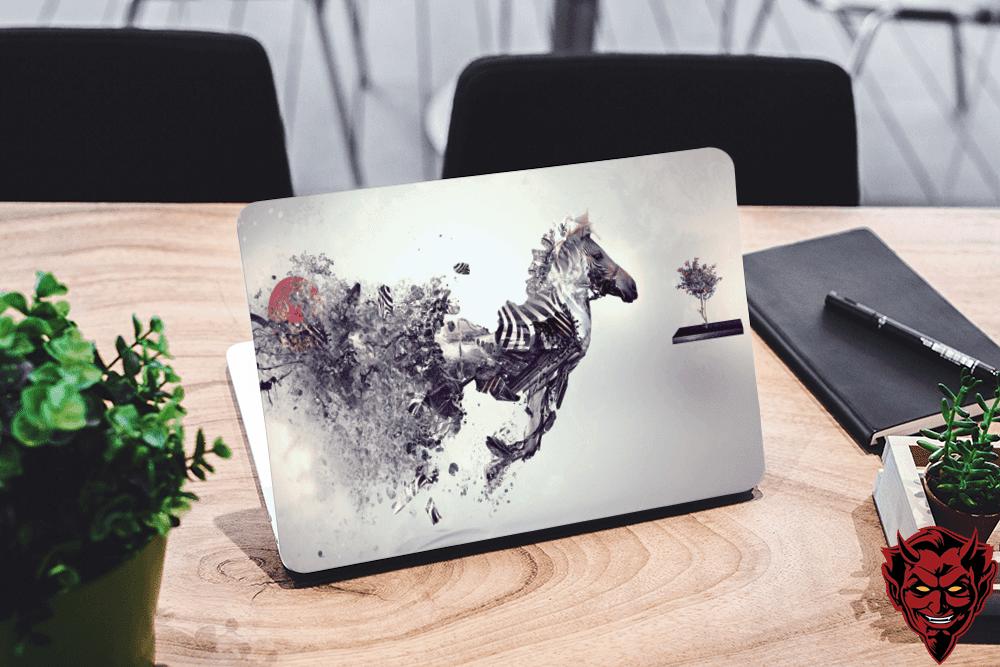 Cretive Horse Laptop Skin