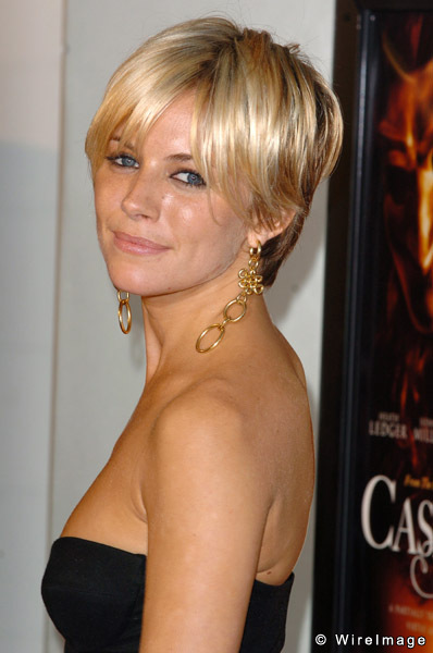 Sienna Miller Short Hair