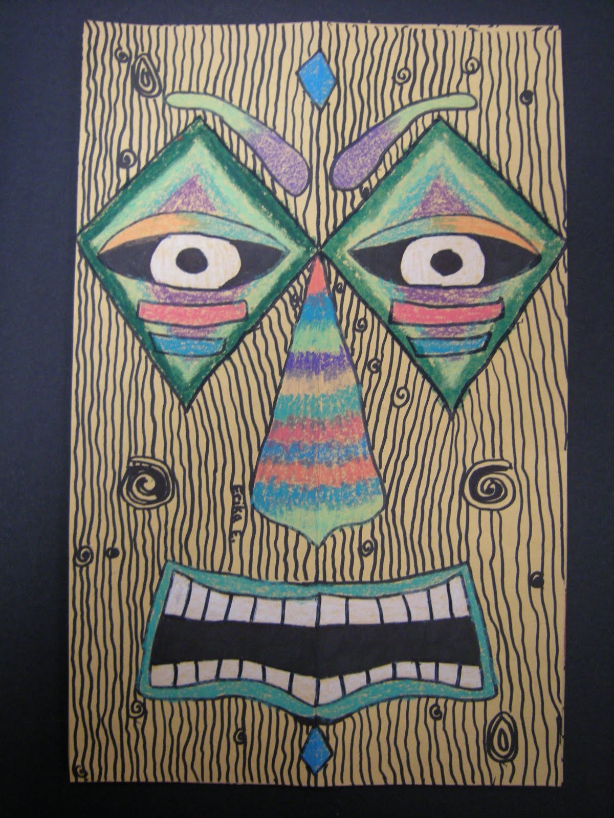 Tiki statues have been around for hundreds of years they have their