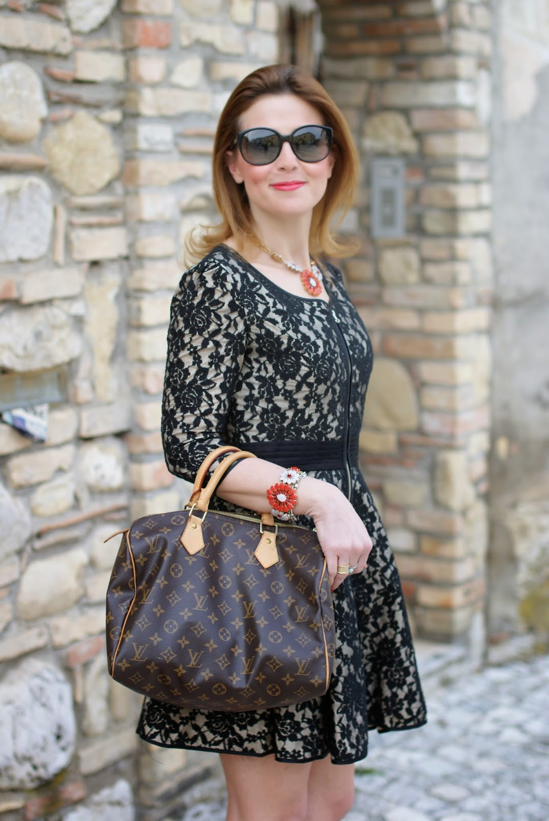 Sodini bijoux, Louis Vuitton Speedy bag, Miu Miu sunglasses, Fashion and Cookies, fashion blogger