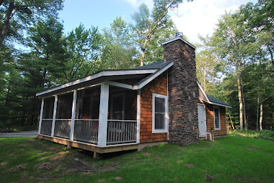Sullivan county ulster county real estate catskill for Cedar shake cottage