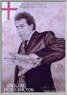 STARS ENGLAND PETER SHILTON Portrait Drawing Soccer Football Khaled3Ken Gallery