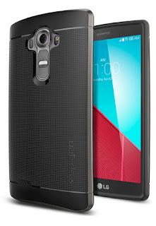 Harga Spigen Neo Hybrid Gunmetal Casing for LG G4
