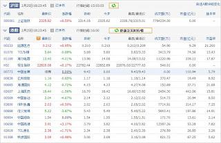 中国株コバンザメ投資ウォッチ銘柄watch20130225