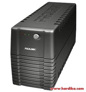 Harga Dan Spesifikasi UPS Prolink EnerHome PRO700 650VA www.hardika.com