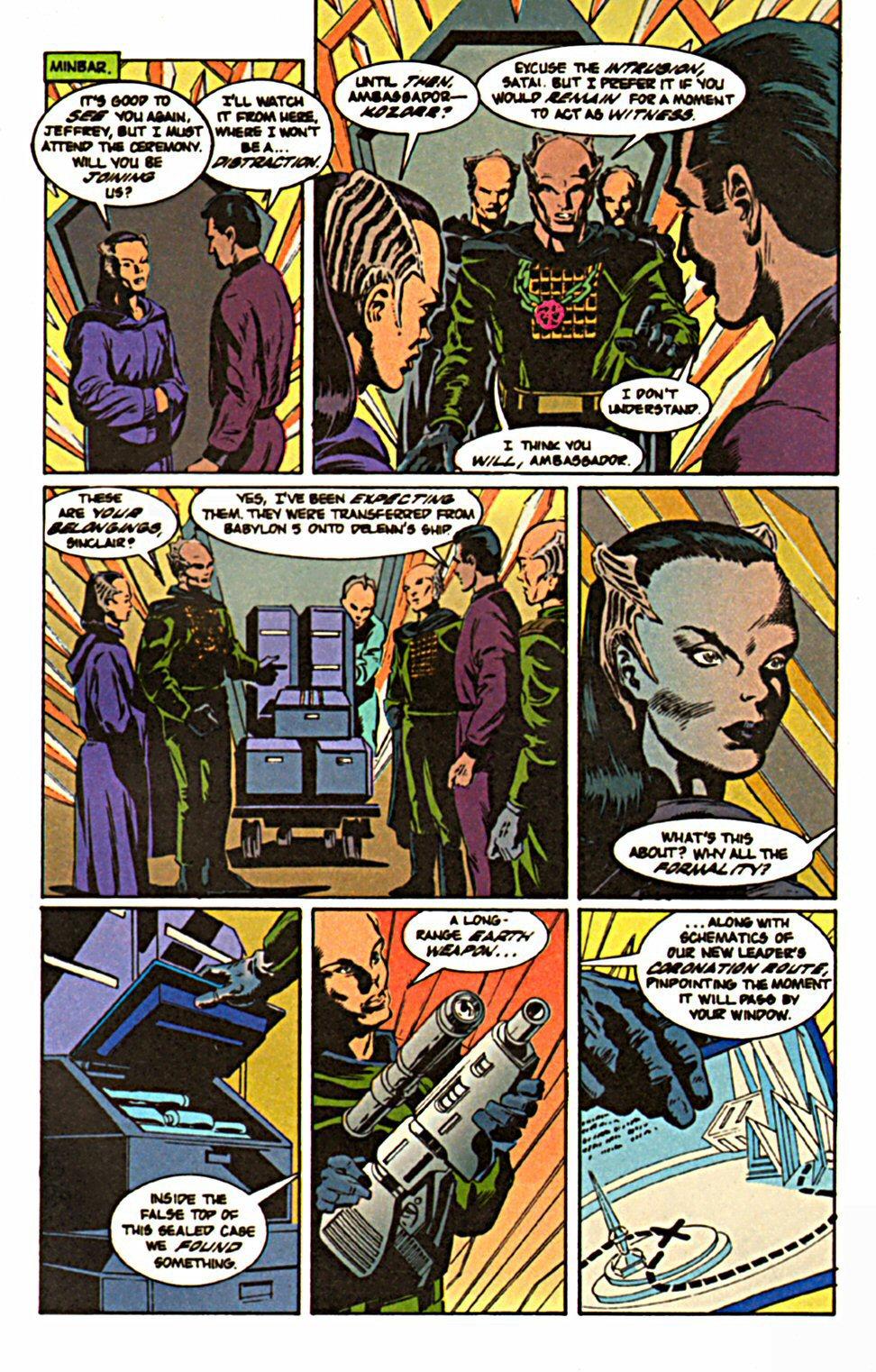 Comic Babylon 5 (1995) issue 2 on robotech schematics, star trek space station schematics, deep space 9 schematics, andromeda ships schematics, stargate schematics,
