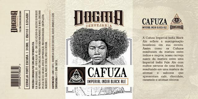 Cerveja Cafuza muda visual