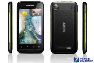 Lenovo Dual sim Android ICS Smartphone