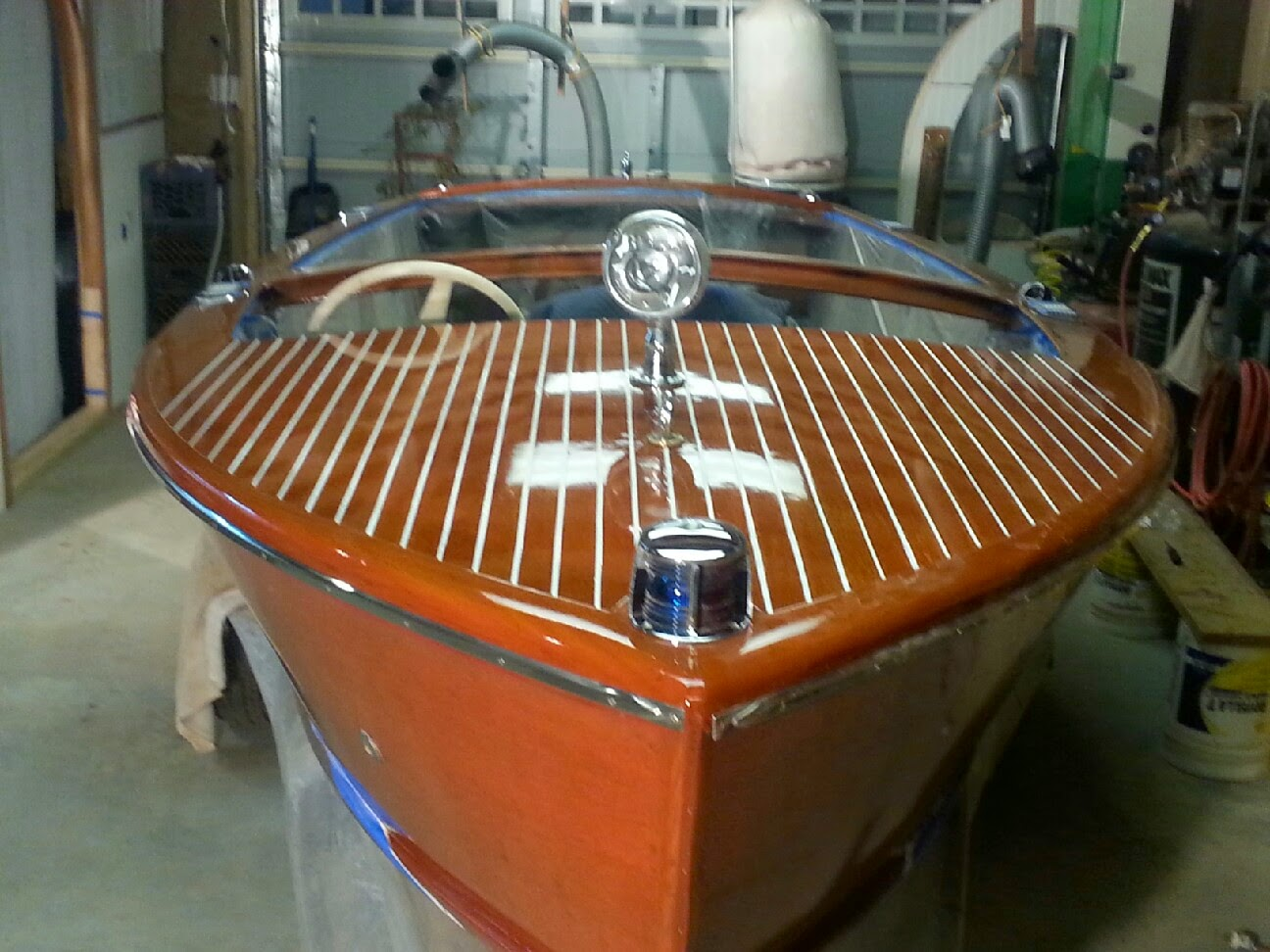 After - 1957 Cris Craft Sportsman Utility 19'