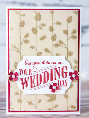 Congratulations on Your Wedding Day - A Special Card for a Special Couple