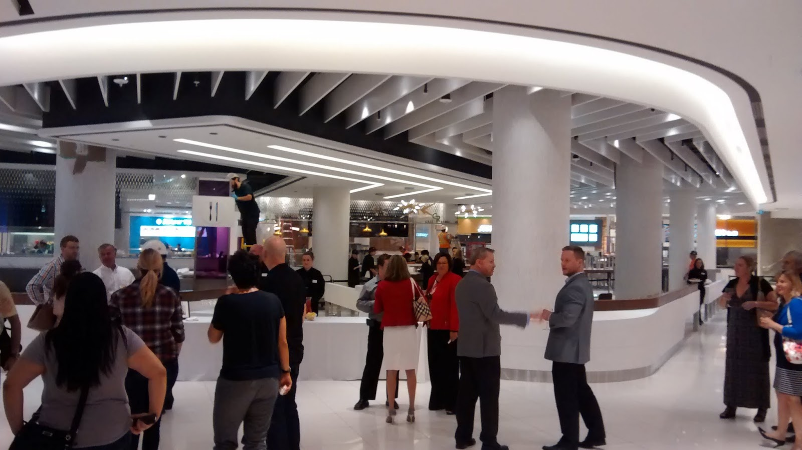 Michael Suddard: New Rideau Centre Food Court: A Review