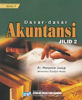 TOKO BUKU RAHMA Buku DASAR-DASAR AKUNTANSI Jilid 2 Pengarang Al Haryono Jusup Penerbit STIE YKPN