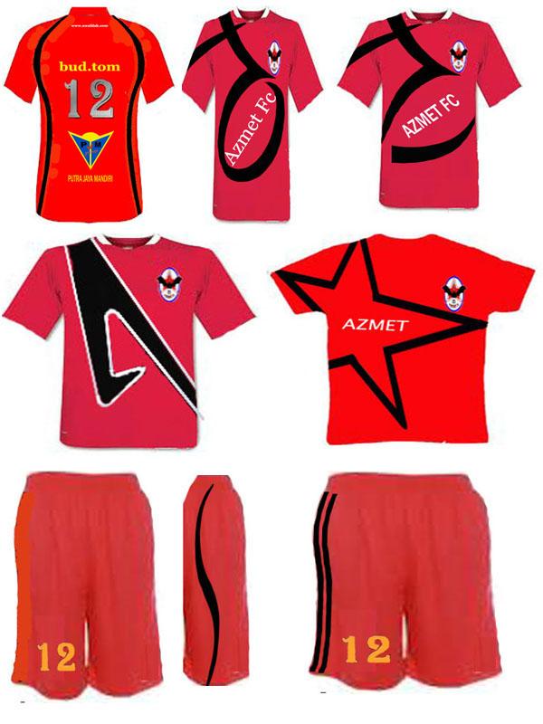 Contoh Desain Kaos Bola Costum Atau Baju Terbaru
