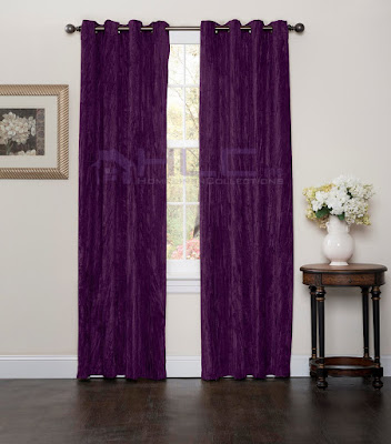 All About Women 39 S Things Purple Velvet Curtains