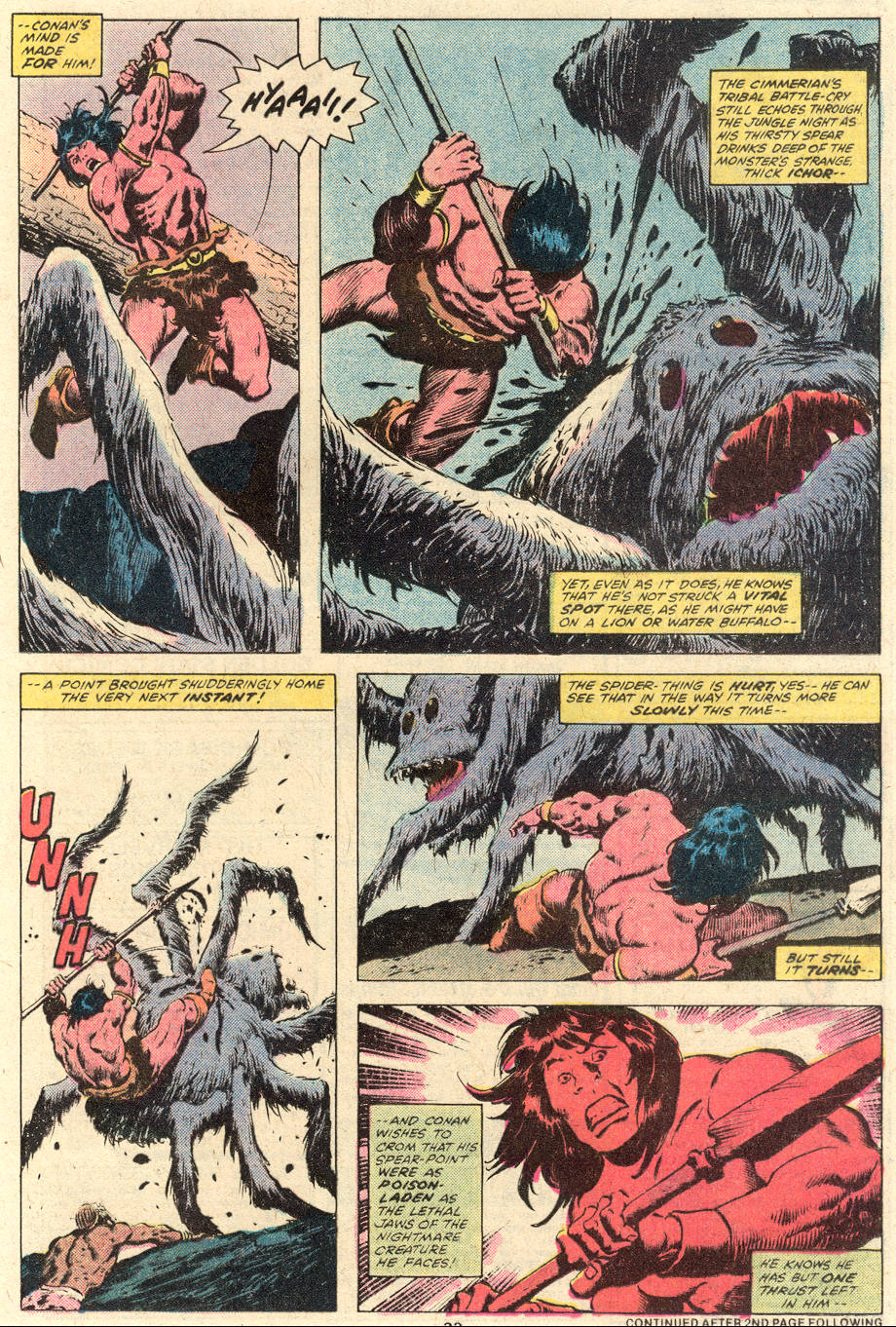 Conan the Barbarian (1970) Issue #101 #113 - English 14