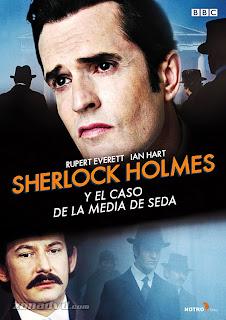 Sherlock Holmes y el caso de la media de seda Poster