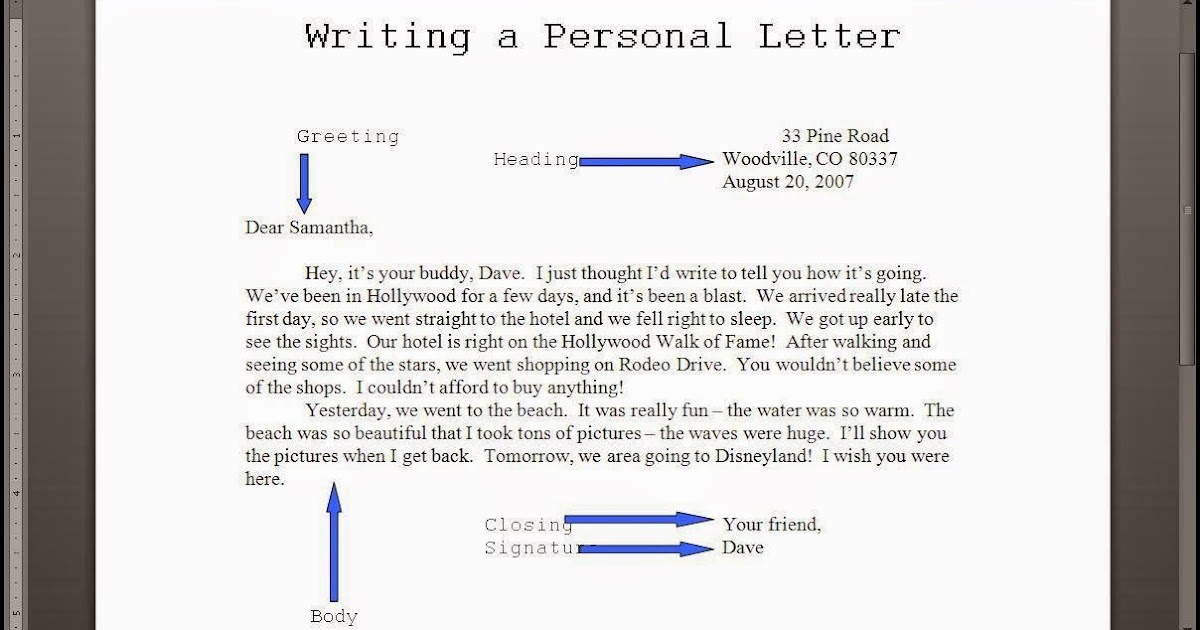 Informal letter writing fce eso 4 english m4hsunfo