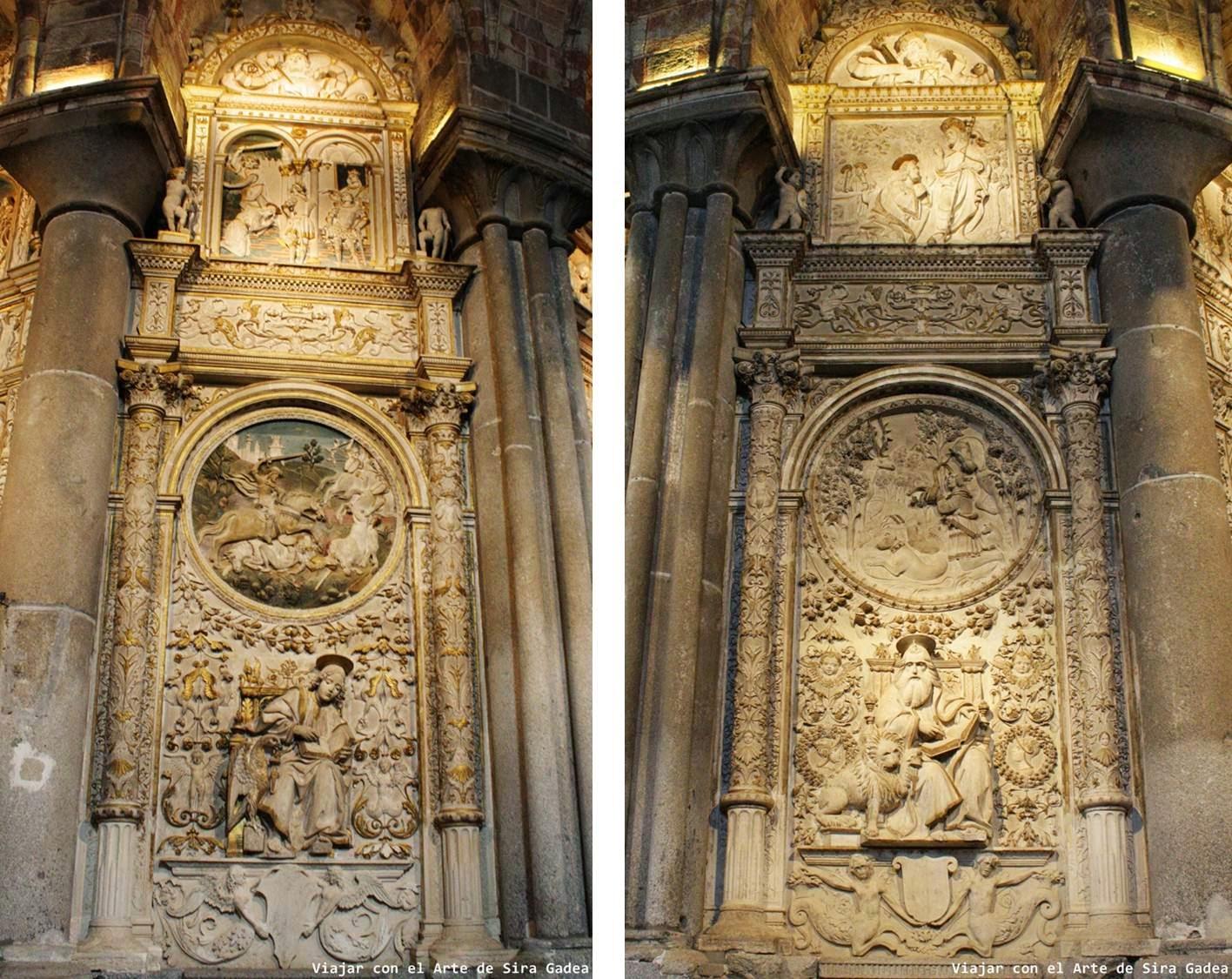 Tostado Trasaltar Catedral Ávila