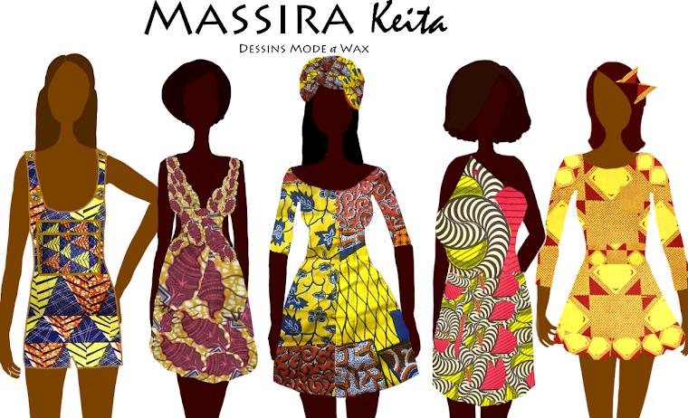 Massira keita dessins mode et wax - Dessin africaine ...