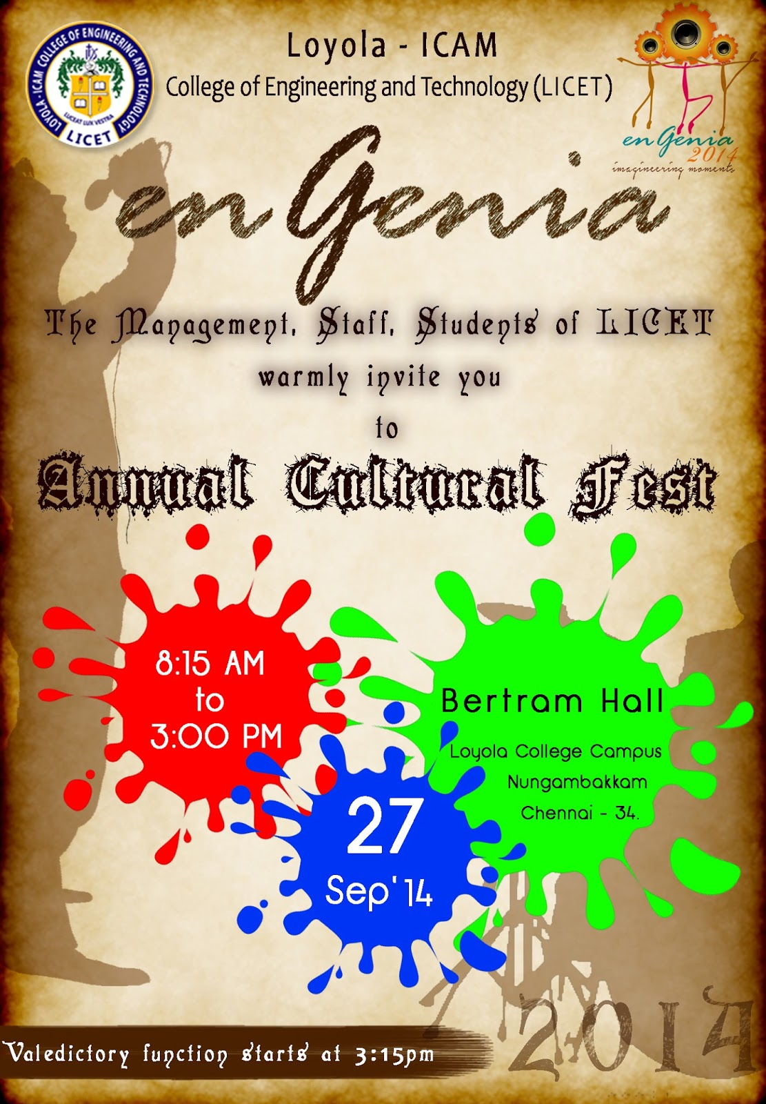 College cultural fest invitation template anselm and anselm college cultural fest invitation template stopboris Choice Image