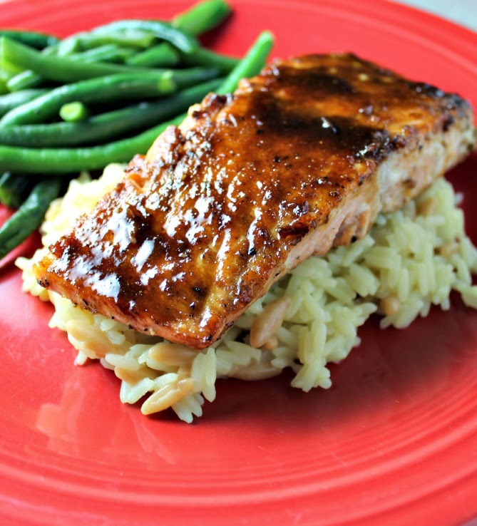 Renee's Kitchen Adventures: Miso-Ginger Glazed Salmon
