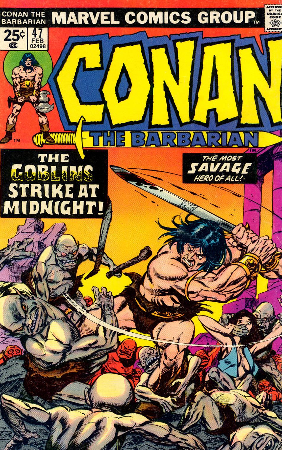 Conan the Barbarian (1970) Issue #47 #59 - English 1