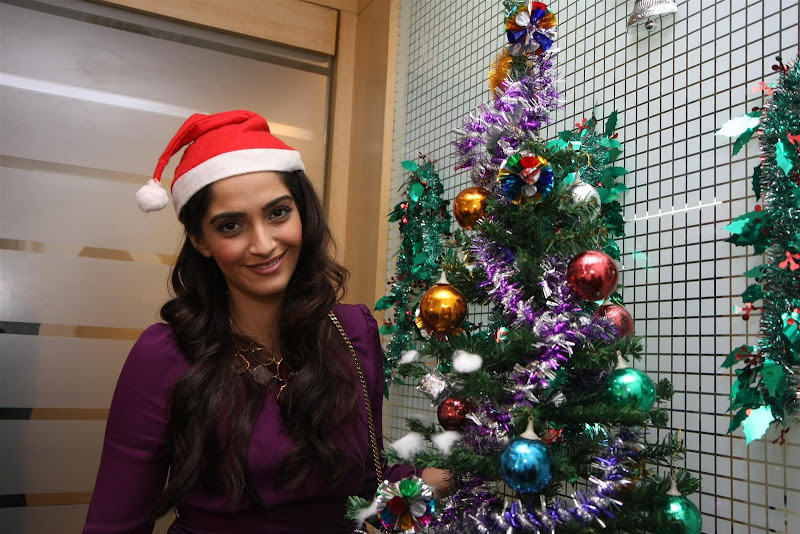 Sonam Kapoor Photoshoot for Christmas Event gallery