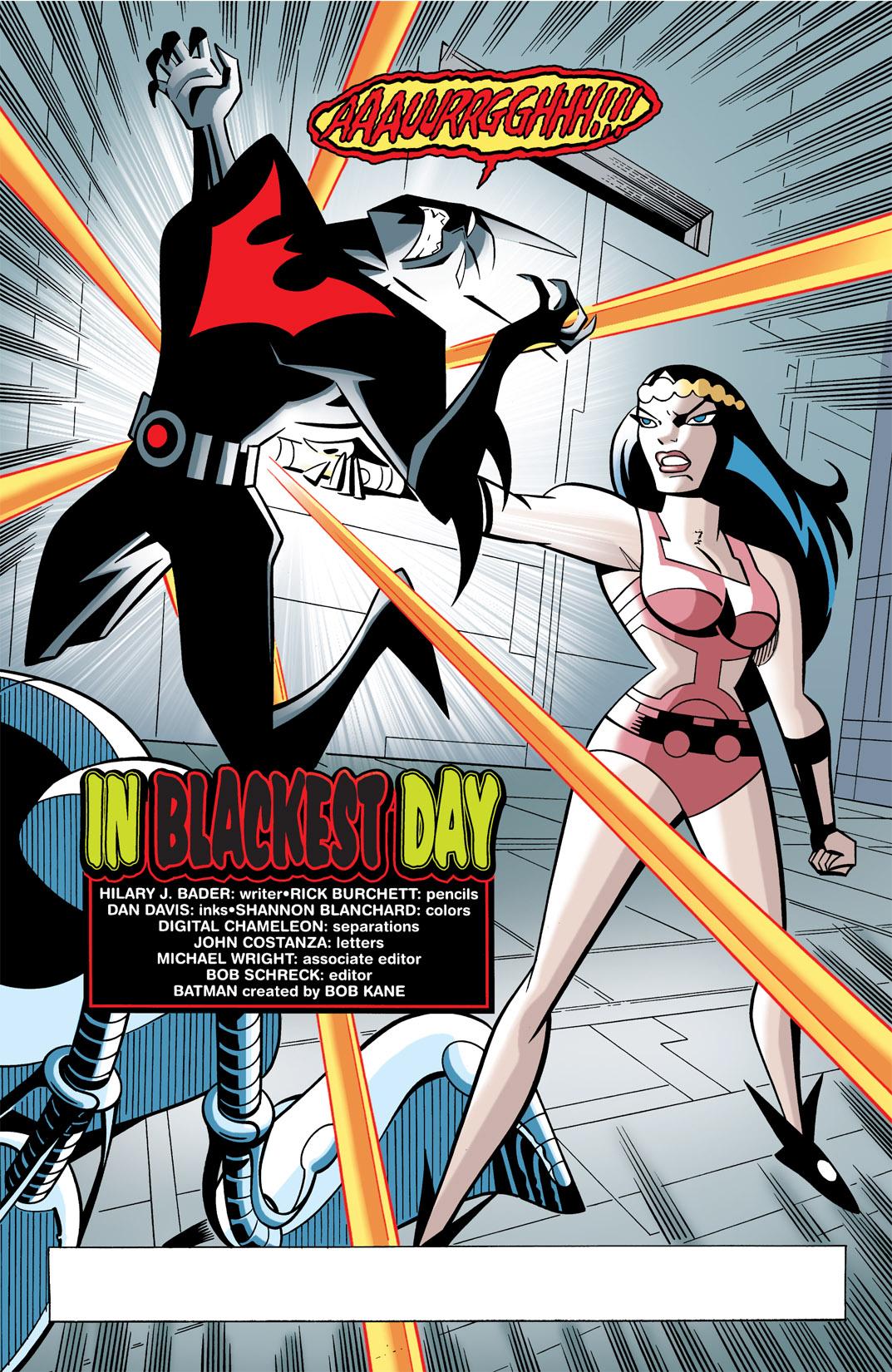 Batman Beyond [II] Issue #21 #21 - English 3