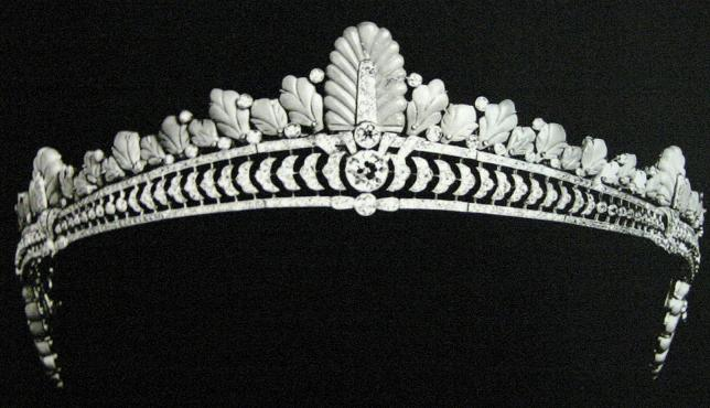تيجان ملكية  امبراطورية فاخرة Turquoise+tiara+diadem+bandeau+persian+diamond