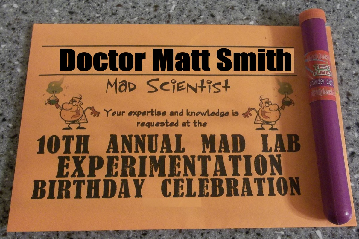 Creative And Cheap Fun And Fabulous Mad Science Party - Mad scientist name tag template