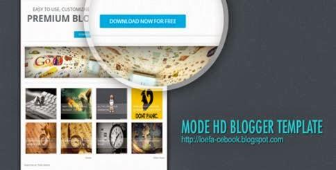 Mode HD Responsive Blogger-bwtemplate