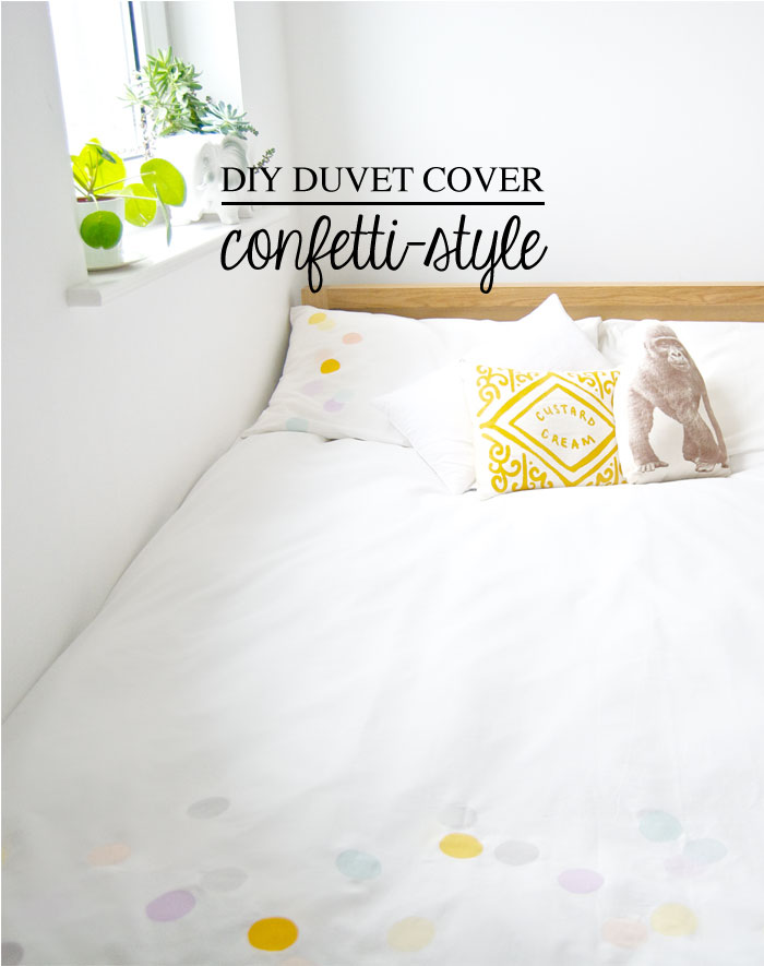 DIY Duvet Cover   Confetti-Style