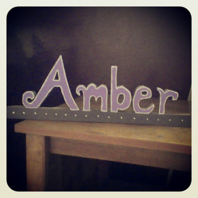 DIY Valentine's Day Craft Project - Homemade Gift Idea - Personalized Wooden Name Sign