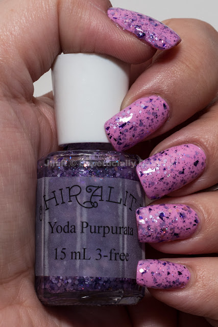 Chirality - Yoda Purpurata over Zoya - Sweet